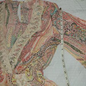 ILLA ILLA Other - Paisley Lace Detail Romper